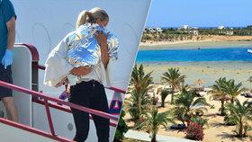 Slovenské batole v Egyptě chytilo neznámý virus. Letěl pro něj vládní speciál
