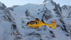 Tragický den v rakouských horách: Jeden Čech zemřel, další je těžce raněn