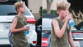 Angelina Jolie a Brad Pitt: Z dcery mají kluka! Shiloh (11) se cítí být chlapcem