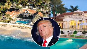 Trumpův ráj nikdo nechtěl: Vilový komplex musel zlevnit o 234 milionů