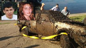 Mladý pár před 12 lety zmizel beze stopy. Jejich auto teď našli na dně Volhy