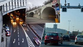 Silničáři v Praze uzavřou tři tunely na Smíchově: Proběhne jejich údržba