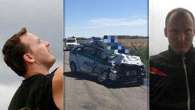 Policisté Michal (†34) a Karol (†39) zemřeli při děsivé autohavárii. Zraněny byly dvě malé děti