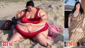 Megabacule zhubla 111 kilo díky sexu: Mám ho tolik, že mě to někdy bolí