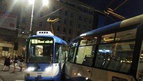 Velké tramvajové trable v Ostravě: Srážka s opilcem, souprava v protisměru i zbitý řidič