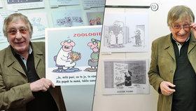 Zemřel kreslíř Pavel Kantorek: Bylo mu 75 let