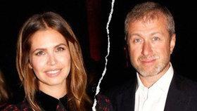 Miliardář Abramovič a jeho manželka se rozcházejí. Společný byznys budou táhnout dál
