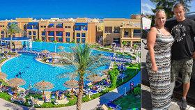 Sexuální útok egyptského plavčíka? Honza lže! Přítelkyni u bazénu zbil on, tvrdí hotel