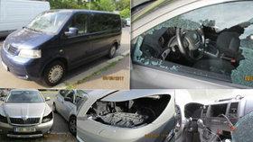 Policie zadržela dva vykrádače aut. Při zatýkání se přiznali a vrátili odcizené věci