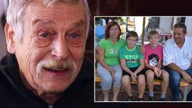 Opatrovník vnuků dědy Zdeňka (†70): S tátou se viděli párkrát, starat se o ně nemůže