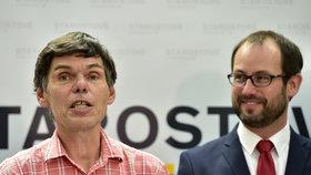 Miliardář Dědek jde do voleb jako lídr Starostů na Ústecku, Farský bude v Praze