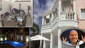Michal David si koupil luxusní vilu u moře za miliony! Podívejte se do ní