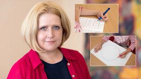 Nenechte děti klikat hodiny na mobilu, varuje expertka před problémy s psaním