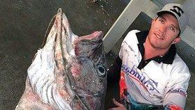 Tomu se říká úlovek! Rybář chytil 70 kilogramů vážící monstrum!