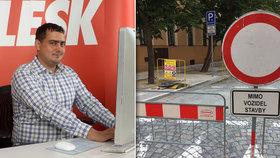 Rozkopaná Praha! Chat s pražským radním pro dopravu. Kdy skončí opravy silnic a chodníků?