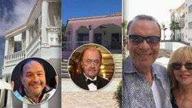 Luxusní sídla, byty za miliony a domy na pláži: Jak žijí české celebrity v zahraničí?