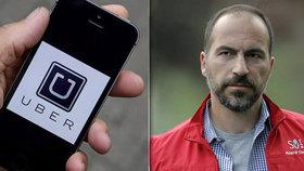 Taxikářům jsou trnem v oku. Uber má nového šéfa, který má vyvést firmu z krize