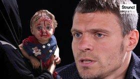 Při oživování čtyřleté holčičky jsme brečeli, říká lékař bez hranic Tomáš Šebek
