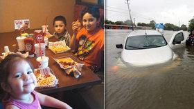 Do auta se nahrnula voda, děti se utopily. Zoufalý švagr volal, ať vyplavou ven kufrem