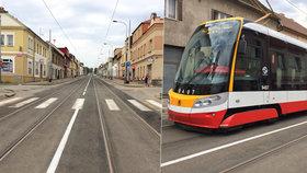 O prázdninách v Kobylisích opravili tramvajovou trať: Děti do školy pojedou po novém