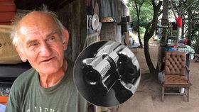 Na bezdomovce Václava (66) mířil opilec pistolí. V ohrožení nebyl poprvé
