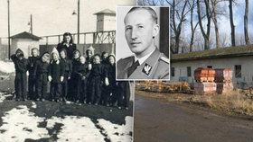 Lágr, který »postavila« smrt Heydricha, se stane muzeem: Trpěly tu i děti, teď se tam vrátí