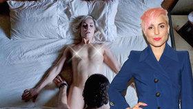 Odvážná herečka Noomi Rapace: Po lesbické roli předvedla bradavky při divokém sexu