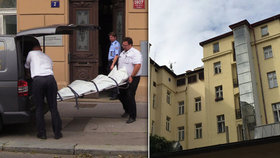 Mrtvý muž ve vnitrobloku u magistrály: Sebevražda, neštěstí, nebo trestný čin?