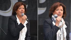 Zpěvačku Marii Rottrovou (78) potrápila zima: Zachránila ji až šála...