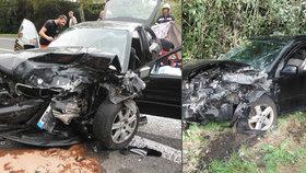 Tragická nehoda na Jičínsku: Seniorka (71) vjela do protisměru, srážku nepřežil spolujezdec (†79)
