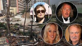 Slavní Češi a Slováci na Floridě mají nahnáno z hurikánu Irma: Matušková odjíždí, Belohorcová se modlí
