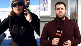 Agresorka napadla štáb Primy s Matějem Rychlým: Policie ji obvinila