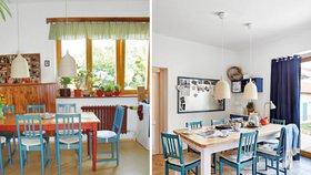 Nádherná proměna! Kuchyně, kde se dobře vaří a u stolu je vždy místo