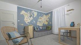 Bydlet jako... Z pokojíčku se Sněhurkou podkrovní útočiště pro malého lovce!
