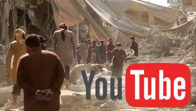 YouTube maže násilná videa. Zničí i válečné dokumenty, děsí se syrští aktivisté