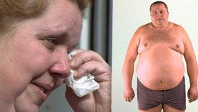Petr (179 kg) šel hubnout z lásky k manželce: Shodil 78 kg a podvedl ji!