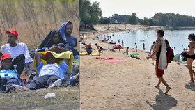 Migranti v českém kempu! Žena z Hrádku začala panikařit, jednalo se jen o turisty z Německa