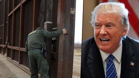 Mezi Mexikem a USA vyroste osm zdí. Celkem projekt vyjde na 839 miliard