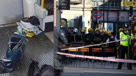 Ahmeda (18) obvinili z útoku v metru a jde před soud. Razie v Londýně a okolí pokračují