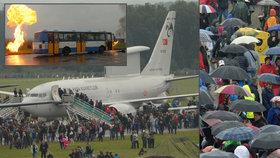 Nepřítelem byl déšť, Arabové vzlétnou dnes. Na dny NATO přišlo 90 tisíc lidí