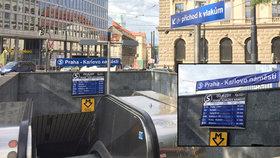 Karlovo náměstí se proměnilo v železniční stanici: Kdy pojedou vlaky pod Prahou?