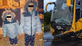 Mladá rodina s dětmi uhořela v autě: Zavinil nehodu Martin (†24)?