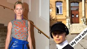 Topmodelka Karolína Kurková: Při běhu ukázala, kam chodila do školy