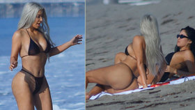 Kim Kardashian (36): Tak od jara vymakala své půlky!