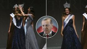 """Miss sebrali korunku. Přirovnala krev Erdoganových """"mučedníků"""" k menstruaci"""