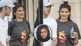 Je Kylie Jenner těhotná?! Nejmladší z Kardashianek bříško maskuje maxi trikem!