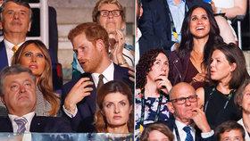 Princ Harry a jeho láska Meghan: První společná akce a hned rozpaky!
