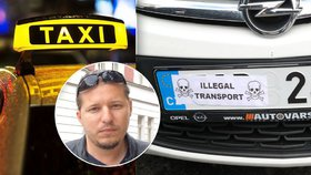 K vyhroceným událostem mezi řidiči taxi a Uberu dochází dál: Taxikář Lukáš (35) popsal situaci v Praze
