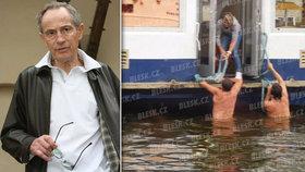 Proč policie otálela při záchraně Jana Třísky (†80)? Strážník nebyl nikým požádán, říká mluvčí