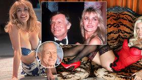 Smutný osud otce Playboye Hugha Hefnera (†91): Měl přes 1000 žen, ale nikdy nenašel spřízněnou duši